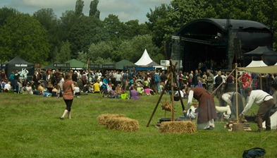 Rapalje Zomerfolk Festival - das Gelände