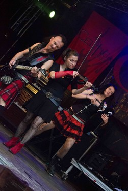 Celtica Pipes Rock beim MPS Telgte 2015