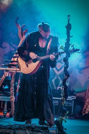 Oli Satyr beim Faun Konzert Telgte 2015