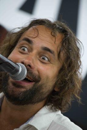 Pinto Frohsinn beim Konzert im Bremer Saturn